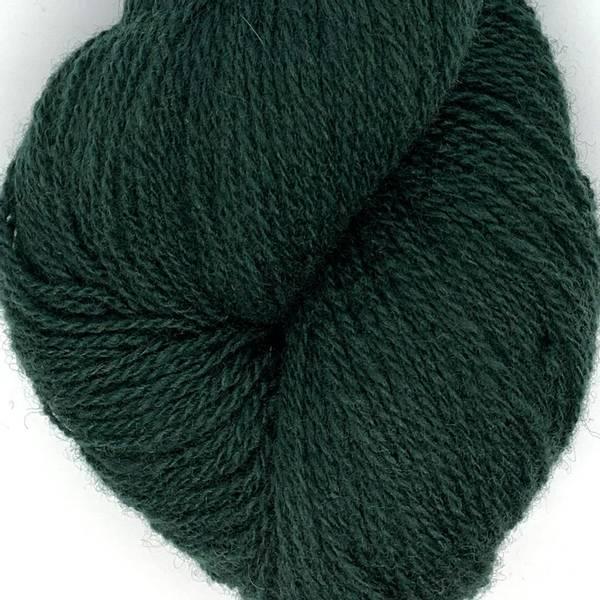Bilde av Vilje lamullgarn, dyp mørk grønn F.418
