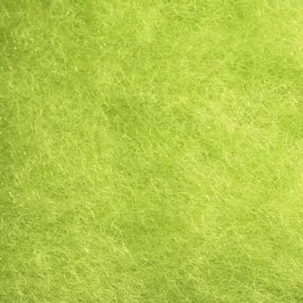 Bilde av Kardet ull, syrlig grønn 100g