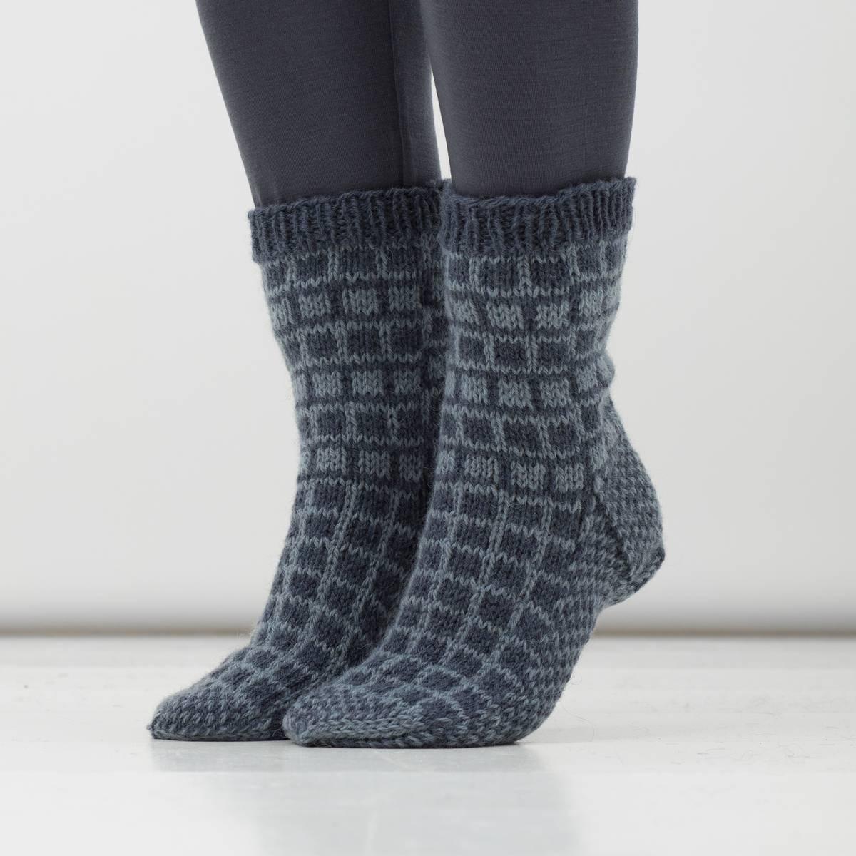 Gla' sokker (Fjell) – oppskrift