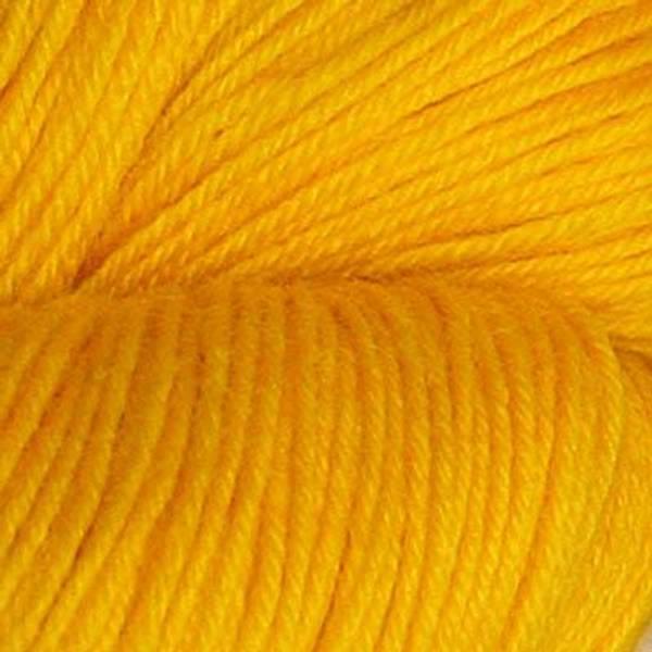 Bilde av Hjerte superwash 12/4, klar ren gul