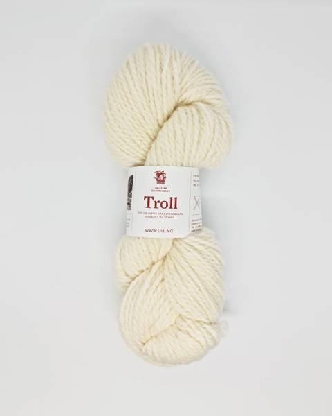 Bilde av Troll, halvbleket hvit