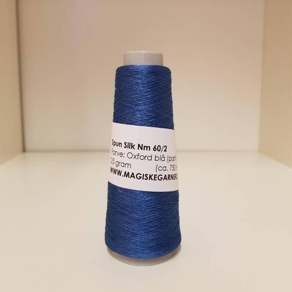 Bilde av Spun silk Nm 60/2 Oxfordblå